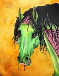 pics of happy halloween zombie horse happy halloween by pmsingtiger on deviantart