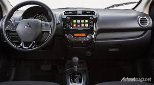expander mitsubishi interior mitsubishi mirage also facelifted focusing more on features than