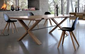 Office Dining Furniture by Large Wooden Dining Table Oxymore From Roche Bobois