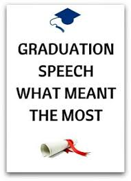 free graduation speeches