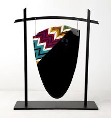 lighted display stand for glass art fused and slumped glass display stands sundance art glass center