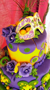 280 best mardi gras cakes images on pinterest masquerade cakes