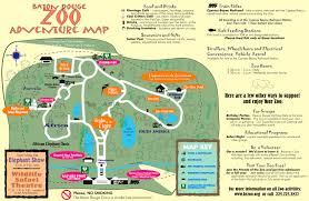 Oregon Zoo Map by Zoos Baton Rouge
