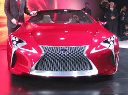 lexus lf lc red file lexus lf lc at naias autoviva front jpg wikimedia commons
