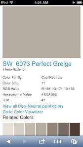 perfect greige sherwin williams and red perfect greige by