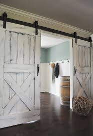 Home Interior Door by Best 25 Distressed Doors Ideas On Pinterest Sliding Barn Doors