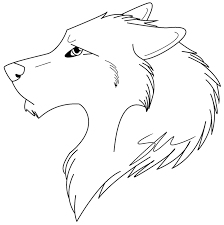 line drawings wolf color pages new on painting tablet superb
