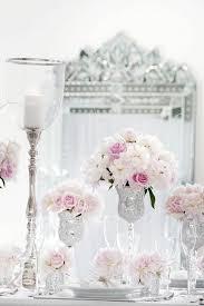 silver centerpieces centerpieces blush silver centerpieces 2061793 weddbook