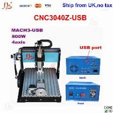 Wood Cnc Machine Uk by Ship From Uk Free Tax 4 Axis Cnc Router 3040 Z Usb 800w Mini Cnc