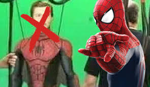 spirit halloween spiderman fake spider man image creates stir online not from captain