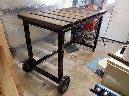 welding table 7 steps with pictures