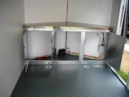 race car trailer cabinets enclosed trailer cabinets accessories f50 for your charming home