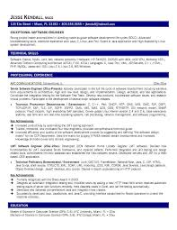Sample Comprehensive Resume by Sample Resume Software Engineer Experience Resumes