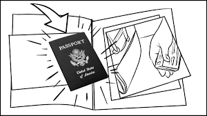 storyboards rfid blocking passport cover commercial project