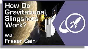 How Does Gravity Light Work How Do Gravitational Slingshots Work Youtube
