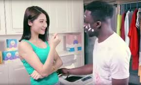 Black Chinese Man Meme - black man is washed whiter in china s racist detergent advert