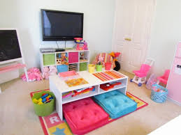 Ideas For Kids Playroom Love The Idea Of Table And Cushions In The Center Of The Playroom