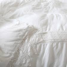 ashwell cluny lace bedding