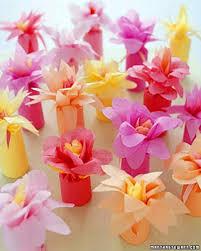 flower wrapped favors martha stewart baby shower pinterest