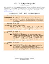 exle of a well written resume resume for grader operator therpgmovie