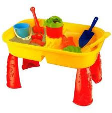 sand and water table with lid sand pits toys without bundle listing ebay