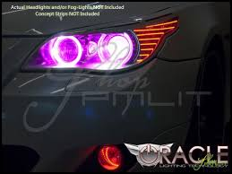 Automotive Led Lights Bulbs by Oracle 04 10 Bmw 5 Series Led Dual Color Halo Rings Head Fog