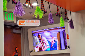 our corona orthodontics office is ready for halloween ismiles