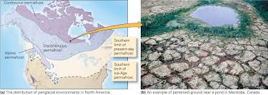 North America Ice Age Map by Consequences Of Continental Glaciation Learning Geology