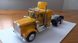 kenworth 2013 models kenworth hauler truck trailer diecast model car toy youtube