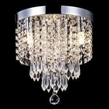 Nachttischleuchte Schlafzimmer Beleuchtung Zeefo Kristall Tischlampe Klassische Dekorative Nachttischlampe