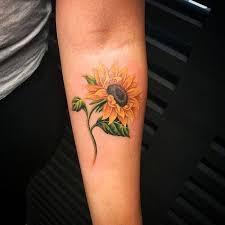 small sunflower design ideas