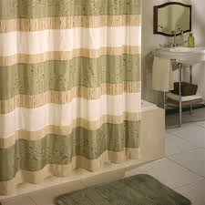 Green And Brown Shower Curtains Shower Curtains Vinyl Fabric Croscill