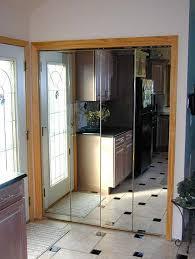 Closet Mirrored Doors Homeofficedecoration Mirrored Closet Doors Bifold