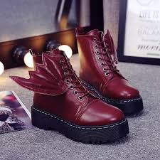 s boots lace up fashion s ankle boots lace up platform boots for