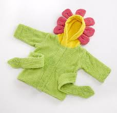 amazon com baby aspen hooded spa robe showers and flowers baby