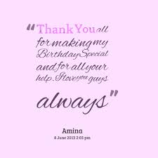 quotes about birthday thanks 26 quotes
