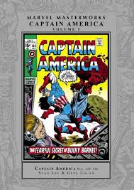 marvel masterworks captain america hard cover 1 marvel comics