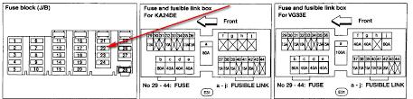 2000 nissan frontier wiring diagram u0026 1998 altima fuse diagram