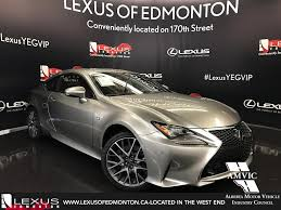 lexus rc awd price new 2017 lexus rc 350 2dr cpe awd 2 door car in edmonton ab l12363