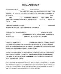 sample commercial rental agreement forms 10 free documents in pdf