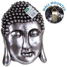 buddha statue ornamental garden sculpture meditating detailed