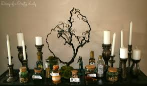 diary of a crafty lady ashley u0027s halloween house specimen bottles