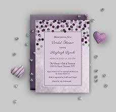 Purple And Silver Wedding Purple Wedding Invitations Wedding Invitation Templates