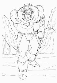 dbzwarriors dragon ball coloring book pages