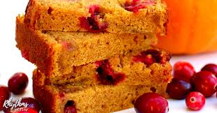 pumpkin cranberry bread recipe rhythms of play