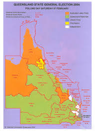 2004 Election Map by Queensland State Election 2004 Queensland Historical Atlas
