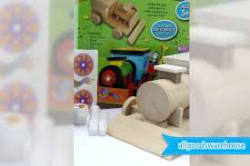 make and paint your own train fun educational kids crafts diy