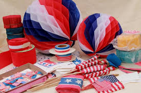 vintage patriotic election american flags paper