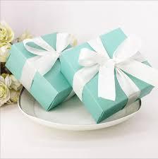 theme wedding favors 200 pcs blue candy box wedding favor boxes blue