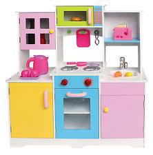pretend kitchen furniture wooden play kitchen ebay